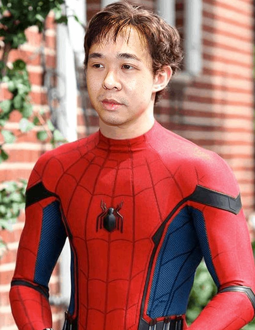 andrew spiderman